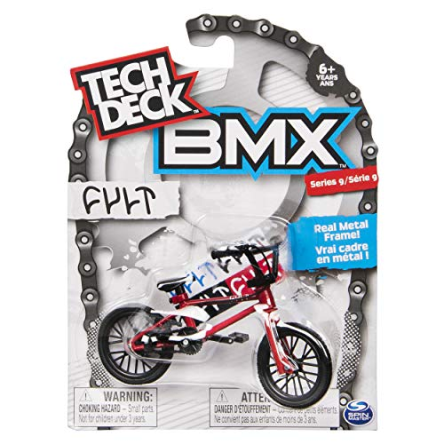 Tech Deck BMX Series 9 Cult Red Finger Bike - 20103165
