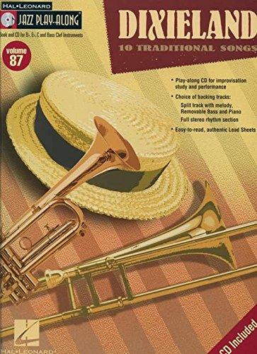 Dixieland: Jazz Play-Along Volume 87 (Dixieland Sheet Music)