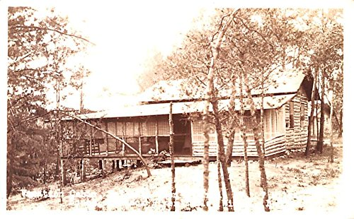 Vacation Cabin Black River Falls Wisconsin postcard