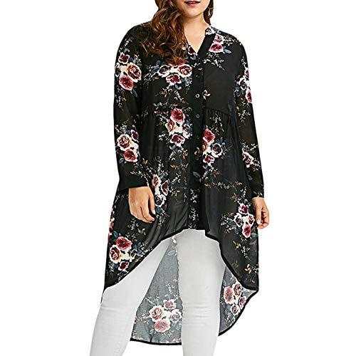 Black2 per donne a maniche Alian lunghe Camicetta x6zpYU