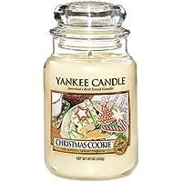 Yankee Candle Bougie en Pot Parfum Biscuit de Noël