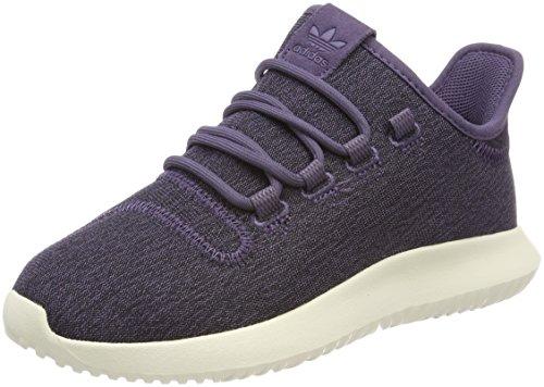 adidas Damen Tubular Shadow Gymnastikschuhe Schwarz (Trace Purple S18/trace Purple S18/off White)