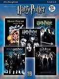 Harry Potter Solos (alto sax/CD) - Sax Mib/Piano - Various - Alfred Publishing