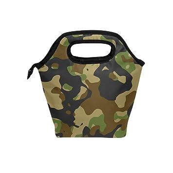 Militaire Fourre Déjeuner Camouflage Isotherme Use7 À Sac Noir XkPuiZ