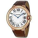 Cartier Ballon Bleu Extra Large 46mm Men's Manual Wind 18K Rose Gold Watch - W6920054