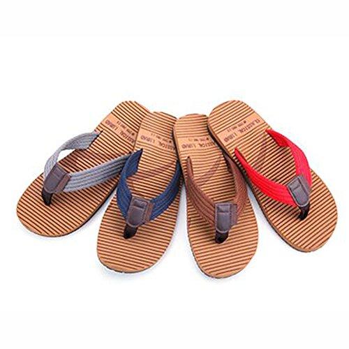 XIAOLIN Zapatillas de deporte de verano con suela gruesa de hombre Zapatillas de deporte con suela de antideslizante de Inglaterra Trend (tamaño opcional) ( Color : 01 , Tamaño : EU40/UK7/CN41 ) 03