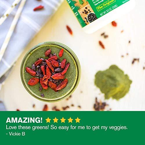 Amazing Grass Green Superfood: Super Greens Powder with Spirulina, Alfalfa, Digestive Enzymes & Probiotics, Original, 100 Servings 5