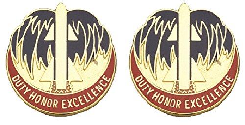 263rd ADA BDE Distinctive Unit Insignia - Pair ()