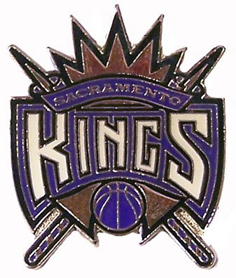 Kings Logo Pin (NBA Sacramento Kings Logo Pin)