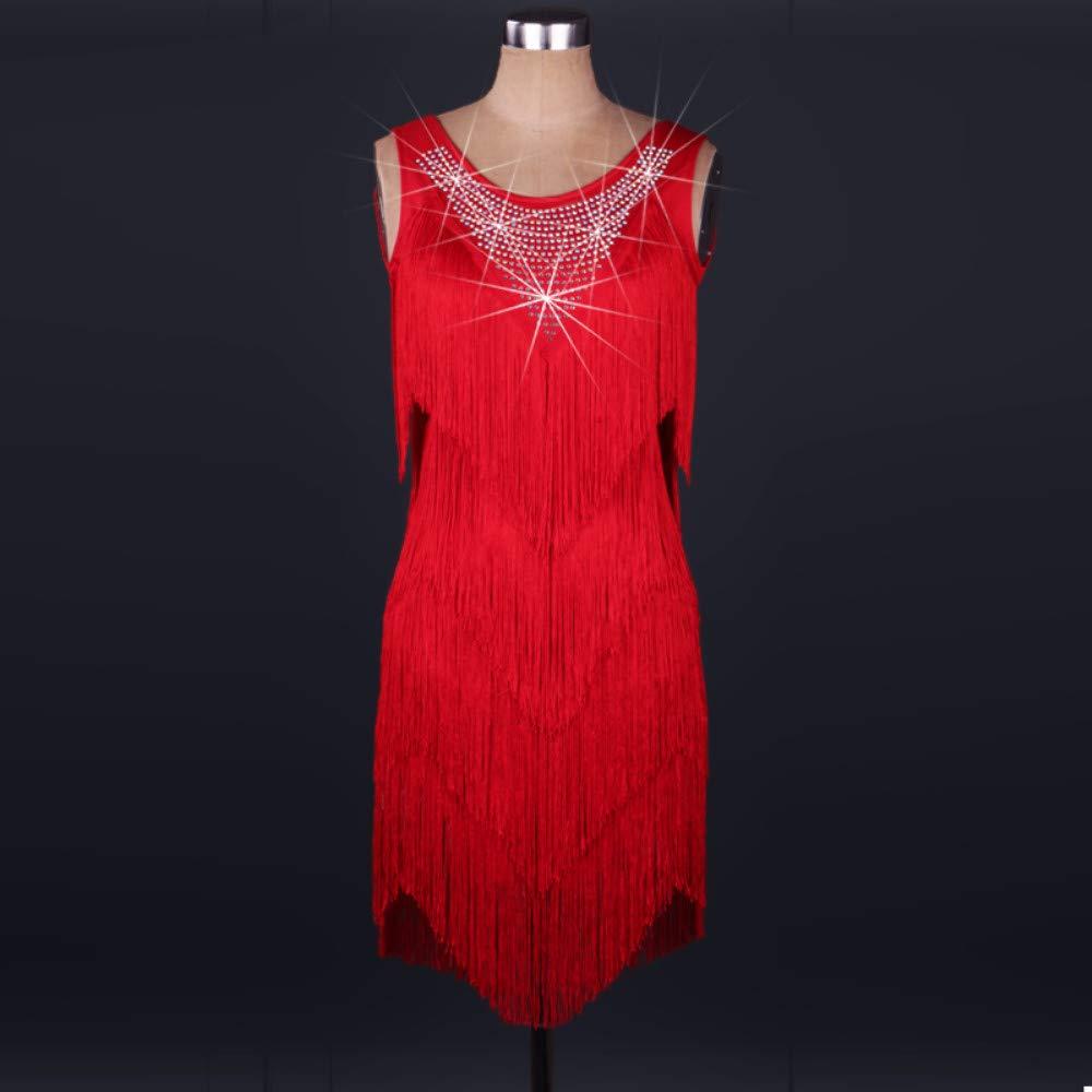 日本に ラテンダンスドレス女性のパフォーマンススパンデックスタッセル結晶ラインストーンノースリーブドレスフェスティバルコスチューム B07PBTF7VC XL B07PBTF7VC XL|Red Red Red XL, HEADFOOTmixism:737b144d --- a0267596.xsph.ru