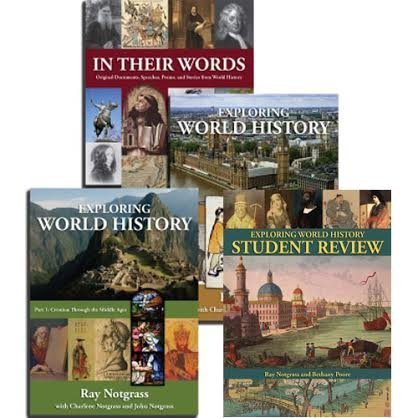 Notgrass Exploring World History 2014 Curriculum Package with Student Review Quizzes