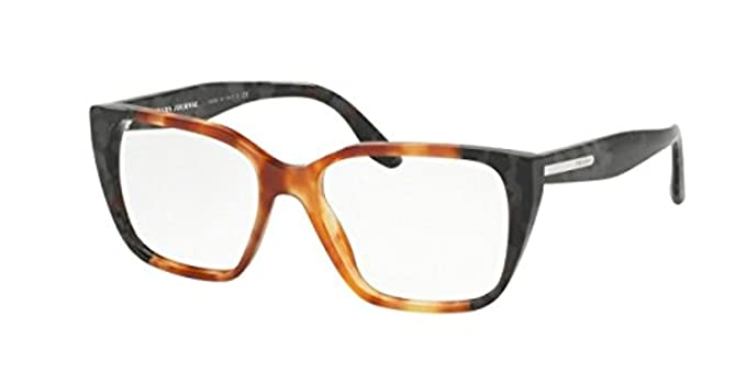 b96b54db71 Image Unavailable. Image not available for. Color  Prada PR08TVF Eyeglass  Frames ...