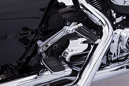 Adjustable Passenger Comfort Peg Mounts (Chrome) for Harley Davidson (Kuryakyn Pegs Passenger Adjustable)