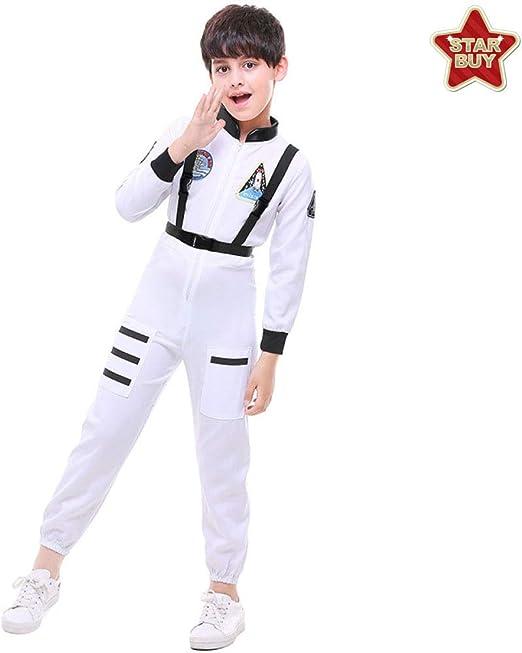COSOER Astronauta Espacial Disfraces De Cosplay Pilotos Trajes De ...
