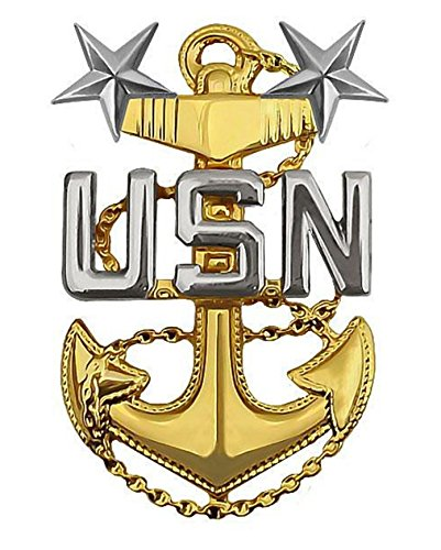 f111c73d199c Image Unavailable. Image not available for. Color: Vanguard Navy Miniature  Cap Device Master Chief Petty Officer E9