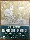 1969 Chassis Service Manual Chevrolet Chevelle Camaro Nova Corvette ST 130-69