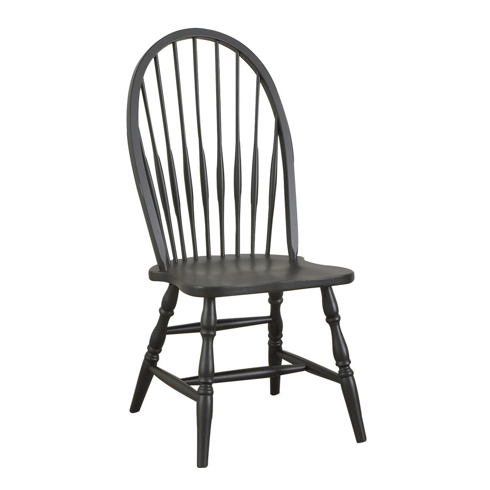 amazoncom  carolina classic cottage windsor chair antique black  chairs. amazoncom  carolina classic cottage windsor chair antique black