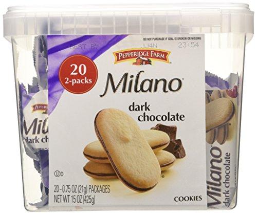(Pepperidge Farm Milano Cookies, Pack Of 20)