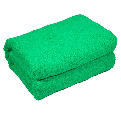 HOME & LOUNGE Bath Towel Sheets - Extra Large 100% Turkish Cotton Spa and Hotel Towel - 35 Inch by 60 Inch - Luxury Soft and Comfortable Sheet - Machine Washable (Lime Green)