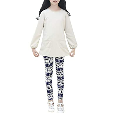 7d1644ecfcb855 Zerototens Baby Toddler Kids Print Flower Leggings Warm Leggings Girls  Leggings Classic Children'S Girls 2-