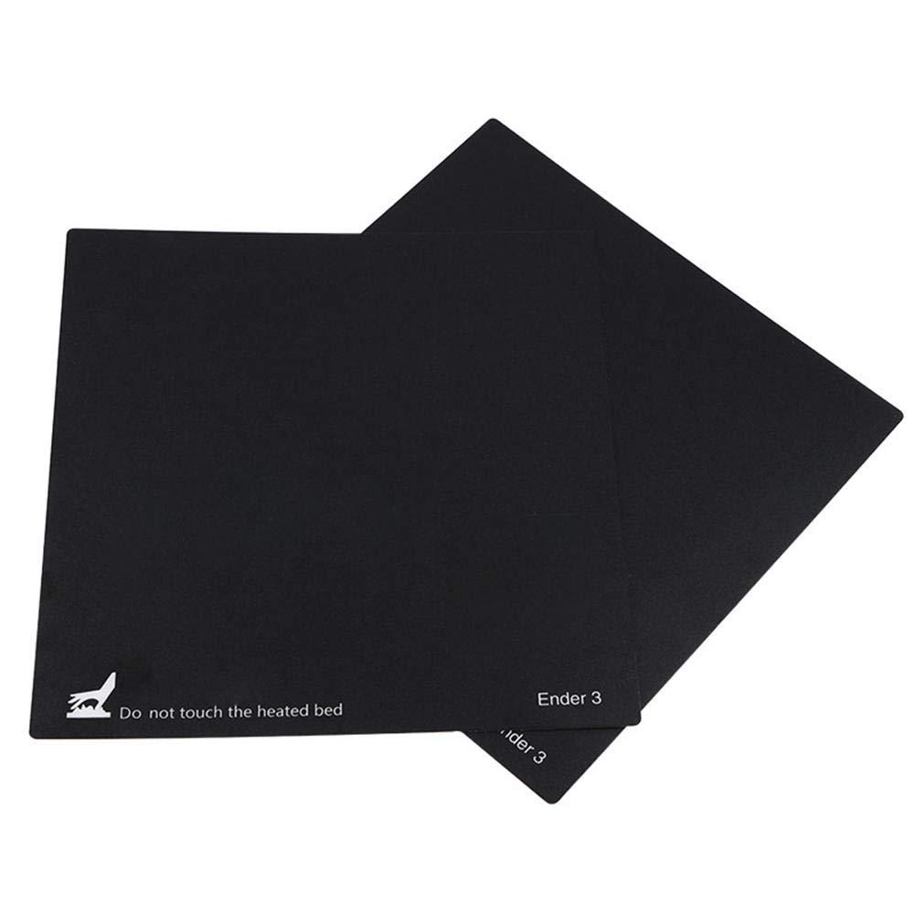 TEEPAO 3D Printer Hot Bed Plate Heatbed Platform Sticker Build Surface for Ender 3 CR-10 CR-10S CR-20 3d Printer Part