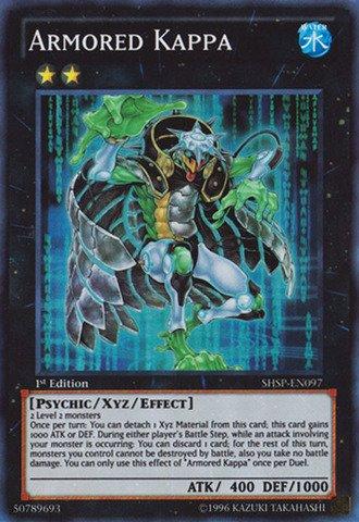Yu-Gi-Oh! - Armored Kappa (SHSP-EN097) - Shadow Specters - 1st Edition - Super Rare
