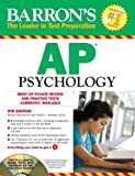 Barron's AP Psychology with CD-ROM, 5th Edition, Allyson J. Weseley and Robert McEntarffer, 1438071310