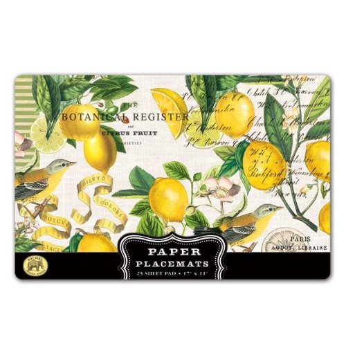 Michel Design Works Lemon Basil Placemats