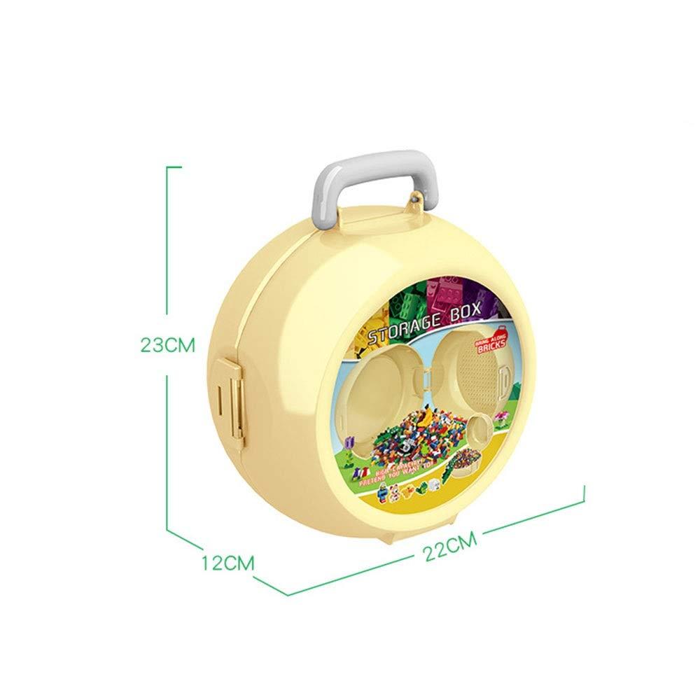 Yuqianqian 323 Stück Bauklötze Dschungel Marfare Ziegelbox (Farbe     Multi-ColGoldt) a414cf