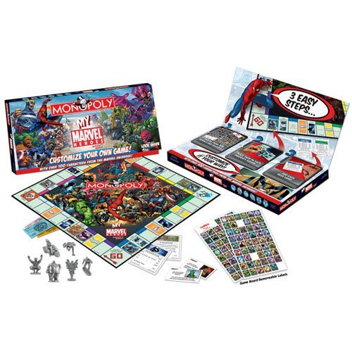 My Marvel Heroes Monopoly by USAopoly