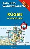 """Rad- und Wanderkarten-Set: Rügen & Hiddensee: Mit den Karten: """"Wittow, Kap Arkona"""", """"Halbinsel Jasmund"""", """"Bergen, Putbus"""", """"Mönchgut, Granitz, bis ... 1:30.000. Wasser- und reißfeste Karten."""