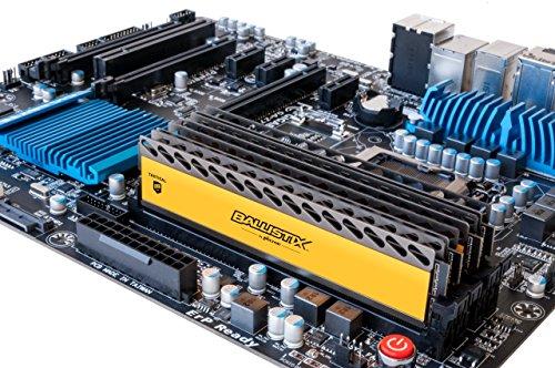 Ballistix Tactical 16GB Kit (8GBx2) DDR3 1866 MT/s (PC3-14900) UDIMM 240-Pin Memory - BLT2KIT8G3D1869DT1TX0 by Ballistix (Image #2)