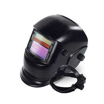 FOONEE Casco para Soldar, Casco para Soldar con Oscurecimiento Automático y Energía Solar Lente Ancha Ajustable para Máscara de Soldador de Arco Mig TIG: ...