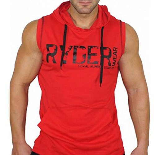 Workout Fitness Sleeveless Hoodie Pullover product image