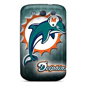 Samsung Galaxy S3 IEq8054WrFN Allow Personal Design High Resolution Miami Dolphins Pictures Scratch Protection Hard Phone Cases -PhilHolmes