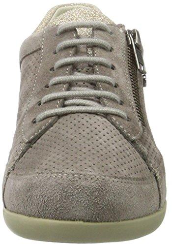Stonefly Damen Venus II 79 Sneakers Grau (TAUPE 423)