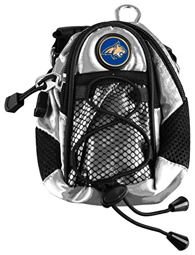 Montana State Bobcats Backpack - LinksWalker NCAA Montana State Bobcats - Mini Day Pack - Silver