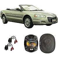 Fits Chrysler Sebring Convertible 1996-2006 Front Door Factory Replacement HA-R69 Speakers