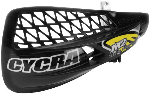 Cycra M2 Recoil Handshield Racer Pack Vented Black Universal (Handguard Vented Pack Racer)