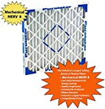 Assigned by Sterling Seal & Supply, (STCC) KP-20x25x1x1.AZ.DSC Furnace Air Filter, 20x25x1 Purolator Key Pleat Extended Surface Pleated Air Filter, Mechanical MERV 8