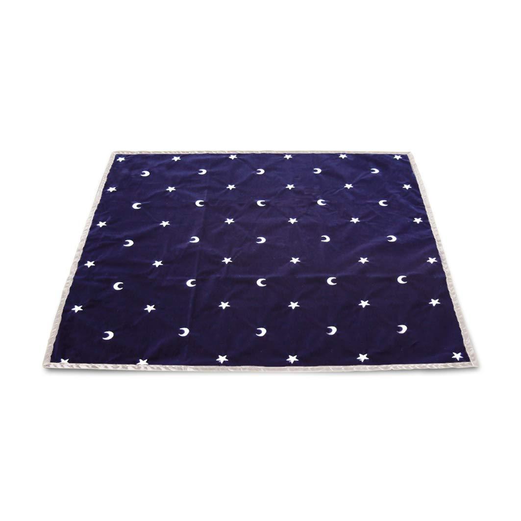 Tarot Cloth Moon & Stars Blue Tp01