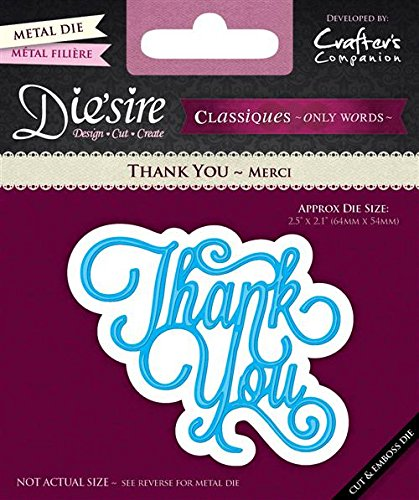 Kitchen Classique (Die'sire Classiques Only Words - Thank You Cutting Die)