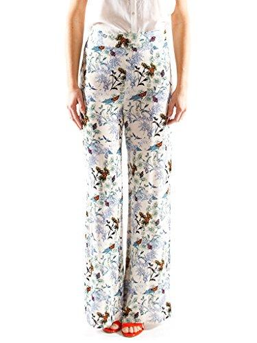 Pantalone Con Carrera Per Donna Stampa It 40 Viscosa Modello Jeans WgPAW
