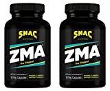 SNAC ZMA The Original Recovery and Sleep Enhancement Formula, 180 Capsules (2 Pack of 90 Count)