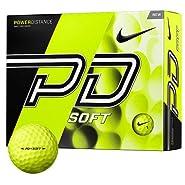 Nike PD 9 Soft Volt Golf Balls - One Dozen