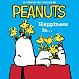 Graphique 2017 Peanuts Happiness Is Mini Calendar 7 x 7-Inches, (MY17317)