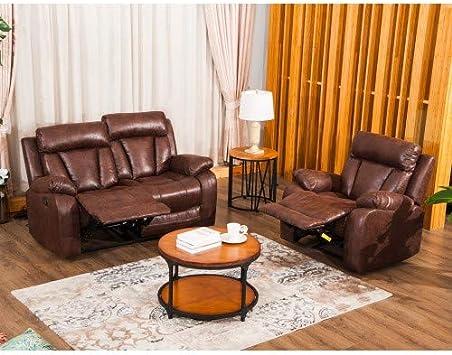Amazon.com: Mooseng - Juego de sillones reclinables de 3 ...
