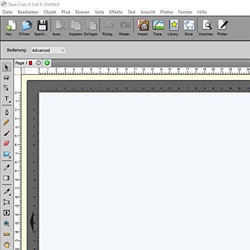 Cortar Software Sure Cuts A Lot 4 para Hobby Cut y Power Cut ...