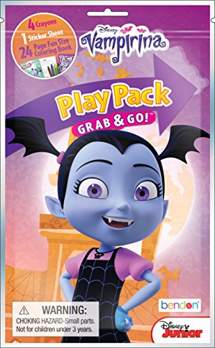 Bendon 42368 Vampirina 24-Page Coloring Play Pack