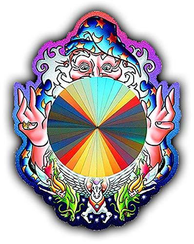 Rainbow Symphony Rainbow Sun Catchers - Mystical Magical Wizard Sun Catcher - Holographic Rainbow Makers